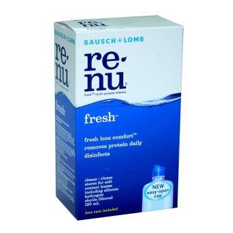 Renu fresh multi-purpose solution 120ml. (12กล่อง)