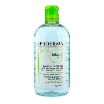 Bioderma Sebium H2O ผลิตภัณฑ์เช็ดเครื่องสำอางค์ 500ml. (เหมาะกับผิวมัน)