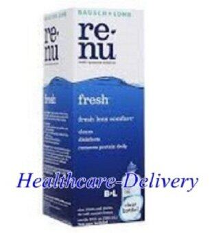 Renu Fresh Multi Purpose Solution 120 ml (6ขวด) รีนิว เฟรช น้ำยาล้างคอนแทคเลนส์