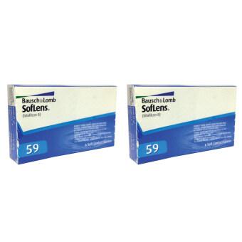 Bausch&Lomb SofLen59 -4.00 รายเดือน 3 คู่ จำนวน 2 กล่อง