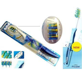 Braun Oral-B Pulsar Toothbrush Medium 40 Soft micro-vibration Braun 40S 5Pack