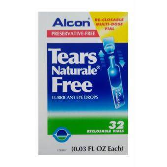 ALCON Tears Naturale Free - Preservative-free น้ำตาเทียม 0.03 FL.OZ (0.8 ml) 1 กล่อง