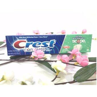 Crest Complete Whitening Plus Scope Toothpaste - Minty Fresh 175 g.