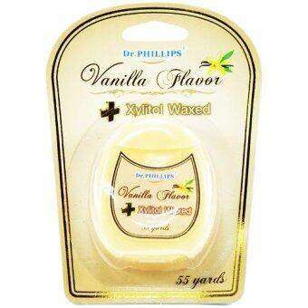 Dr.PHILLIPS ไหมขัดฟัน Dental Floss [Venilla Flavor]