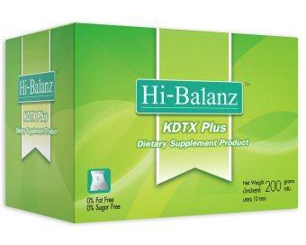 Hi-Balanz KDTX Plus อาหารเสริมล้างสารพิษทั้งระบบ 10 ซอง/กล่อง