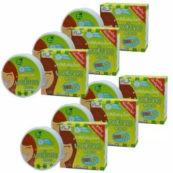 By Phoca ยาสีฟันสมุนไพร บายโภคา ฟันสวย ยิ้มสดใส ใช้เพียงนิดเดียว ขนาด 25 กรัม (6 กล่อง)