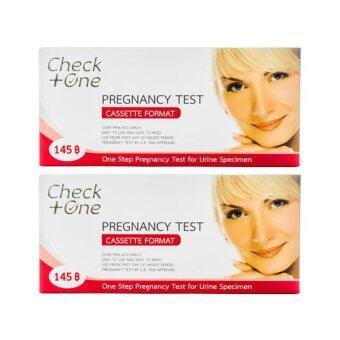 Check One ชุดทดสอบการตั้งครรภ์ชนิดหยด (2 กล่อง)