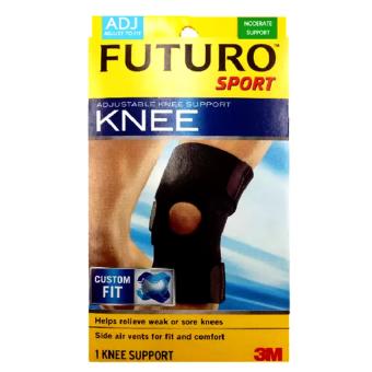 Futuro Sport Adjustable Kneeอุปกรณ์พยุงเข่า ฟูทูโร่ ชนิดปรับกระชับได้ รุ่น09039