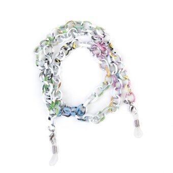 Aluminum Sunglasses Spectacles Chain Necklace Multicolor