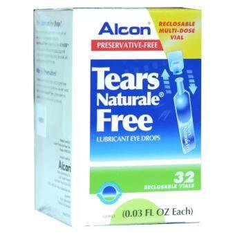 ALCON Tears Naturale Freeน้ำตาเทียม ไม่มีสารกันบูด0.03 FL.OZ (0.8 ml) 1กล่อง