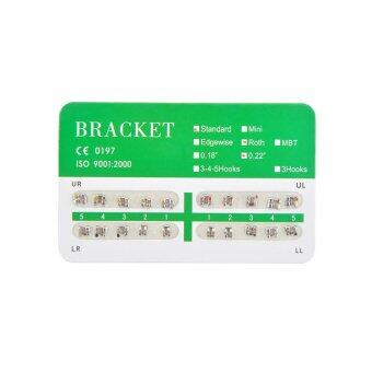 New Dental Dentist Orthodontics Brackets Standard Roth 022 No Hooks – 20Pcs/Pack