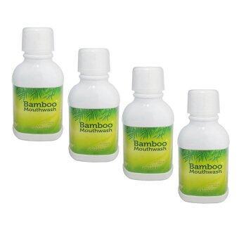 Bamboo Mouthwash น้ำยาบ้วนปากแบมบู 300 ml. (4 ขวด)