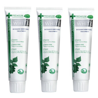 Dentiste' Premium & Natural White Toothpaste 100 g. (3 Pcs)