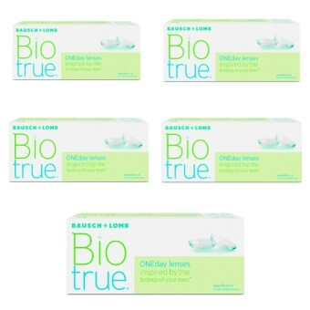 Bausch & Lomb Contact Lenses Biotrue one day (30 Lenses) 5 Boxes