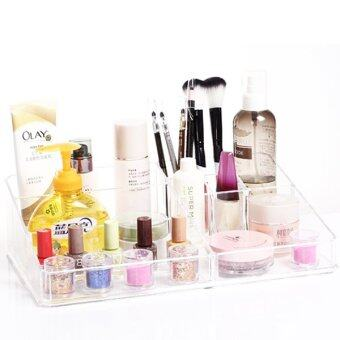 Acrylic Cosmetic Organize SF-1302 - Clear White