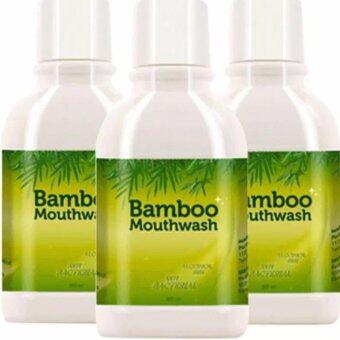 HyLife Bamboo Mouth Wash ไฮไลฟ์ แบมบู เม้าท์วอช น้ำยาบ้วนปากจากต้นไผ่ (((3 ขวด)))