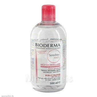 Bioderma Sensibio H2O ผลิตภัณฑ์เช็ดเครื่องสำอางค์ เหมาะกับผิวแห้ง ผิวแพ้ง่าย 500ml.