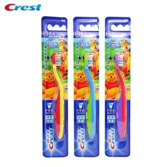 Children Toothbrush Crest Teeth Clean Soft Bristles from Ireland Gum Care Stages 2 Kid's Tooth Brush age 2~4 Years (3pcs=1pack)
