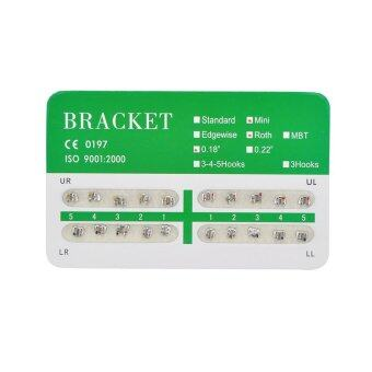 New Dental Dentist Orthodontics Brackets Mini Roth 018 No Hooks – 20Pcs/Pack