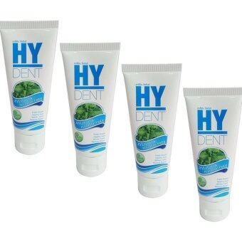 HY DENT ยาสีฟัน hydent 4 หลอด