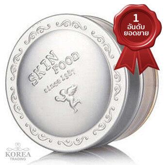 SKINFOOD แป้งฝุ่นผสมชิมเมอร์ Rice Shimmer Powder 23g