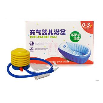Inhand อ่างอาบน้ำเด็ก รุ่น IIS-YP-211 ( Blue) ฟรี Air Pump + Repair Kit (image 4)