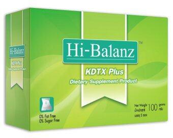 Hi-Balanz KDTX Plus อาหารเสริมล้างสารพิษทั้งระบบ (5 ซอง/กล่อง)