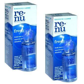 Renu Fresh Multi Purpose Solution 355 ml (2ขวด) แถมฟรี ขวดเล็ก 60 ml 2 ชุด