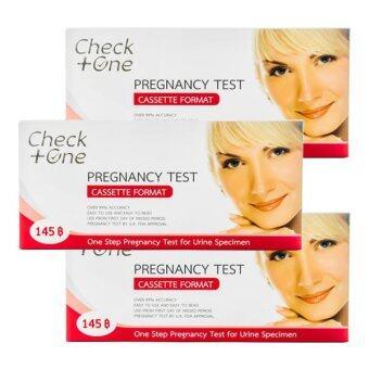 Check One ชุดทดสอบการตั้งครรภ์ชนิดหยด (3 กล่อง)