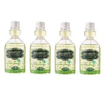 Dentiste' Oral Rinse Zn CPC Fresh Breath (4Pcs)