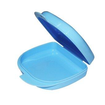 Blue Dental Orthodontic Retainer Denture mouthguard Case Box (Intl)