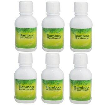 Bamboo Mouthwash น้ำยาบ้วนปากแบมบู 300 ml. (6 ขวด)