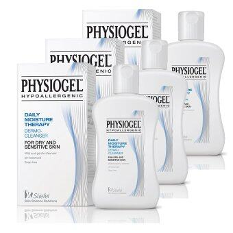 PHYSIOGEL Daily Moisture Therapy Cleanser 150 ml (x3)