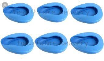 Banya Pharma หม้อนอนพลาสติก รองให้ผู้ป่วยขับถ่าย bed pan 6 ใบ