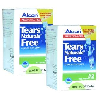 ALCON Tears Naturale Free น้ำตาเทียม ไม่มีสารกันบูด 0.03 FL.OZ (0.8 ml) 2 กล่อง