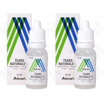 Alcon Eye Drops น้ำตาเทียม Tears Naturale II 15 ml. x 2 ชิ้น