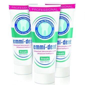 EmmidentยาสีฟันนาโนรสFresh Emmident Toothpast 3 หลอด
