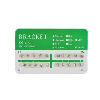 New Dental Dentist Orthodontics Brackets Mini Roth 018 3 Hooks – 20Pcs/Pack