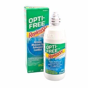 (1 ขวด x 300 ml.) ALCON OPTI-FREE RepleniSH ออฟติ-ฟรีรีเพลนิช ขนาด 300 ML