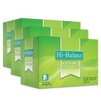 Hi-Balanz KDTX Plus Detox Full System ขนาด 10 ซอง/กล่อง (จำนวน 3 กล่อง)
