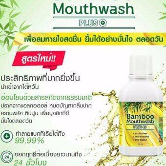 Bamboo Mouthwash Plus แบมบู เม้าท์วอช พลัส