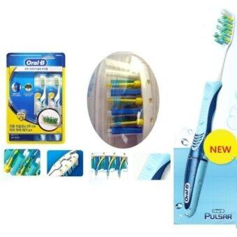 Braun Oral-B 2-Pack Pulsar Toothbrush Medium 40 Soft Braun 40S 2-Pack /GENUINE