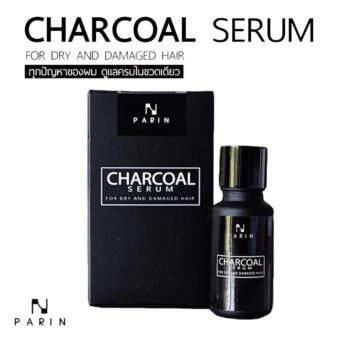PARIN CHARCOAL SERUM ชาโคล เซรั่ม ดูแลทุกปัญหาผม ครบในขวดเดียว 1 ขวด 15 มลขวด