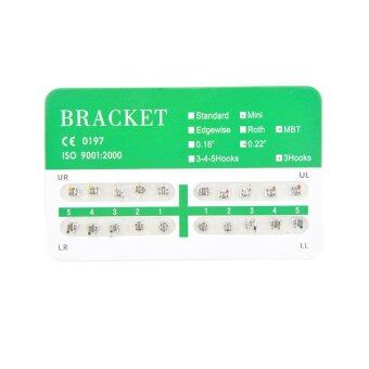 New Dental Dentist Orthodontics Brackets Mini MBT 022 3-4-5 Hooks - 20Pcs/Pack