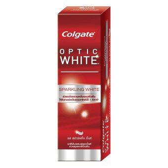 COLGATE ยาสีฟัน อ๊อฟติค ไวท์ สปาร์คกิ้ง ไวท์ 100 กรัม