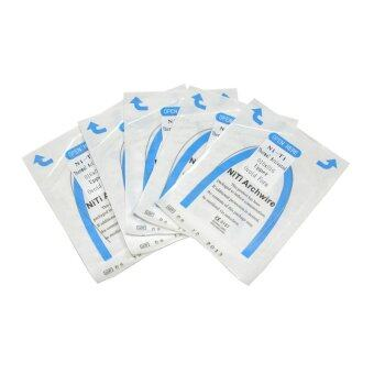 0.019*0.025 lower 1 pack/10pcs Dental Orthodontic NITI Thermal Activated Rectangular Arch Wires