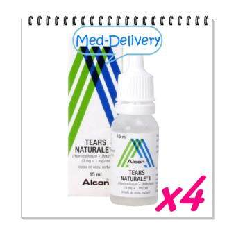 ALCON Tears Naturale น้ำตาเทียม15ml * 4 BOT (ขวด)
