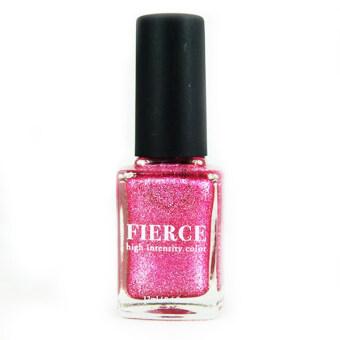 Fierce nail polish ยาทาเล็บ เนื้อทราย รุ่น EF14 Delicate - สีชมพูเข้ม
