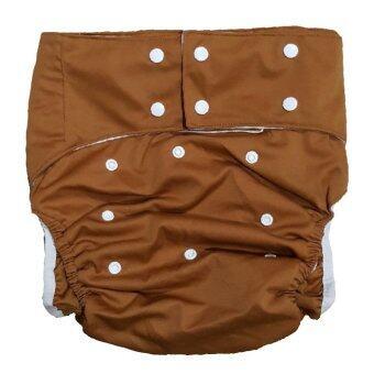 BABYKIDS95 กางเกงผ้าอ้อมผู้ใหญ่ ฟรีไซส์ (สีน้ำตาล)