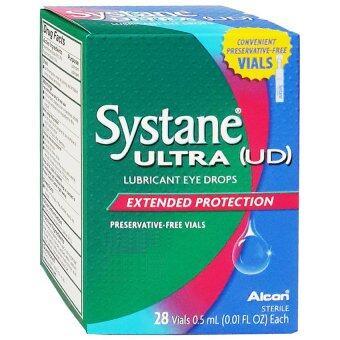 ALCON Systane Ultra น้ำตาเทียม ไม่มีสารกันเสีย 0.5 ML 28ชิ้น (1กล่อง)